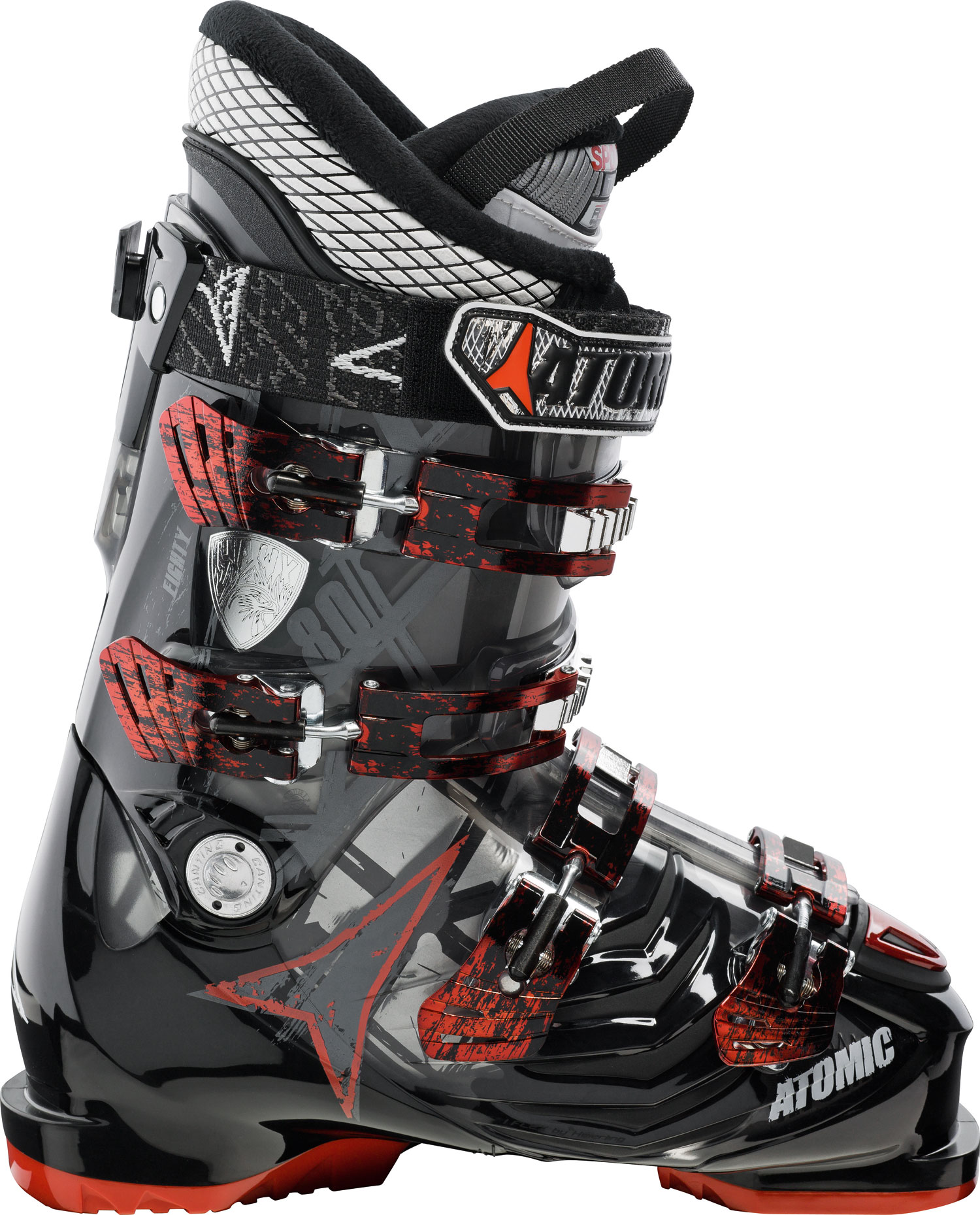 Ski Key Features of the Atomic Hawx 80 Ski Boots: 80 Flex Edge 7000 buckle 35mm strap ASY Sport T1 liner - $241.95