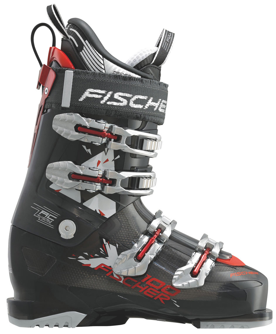 Ski Top freeride boot with extra soft flex. The On/Off Piste Mode ensures not only skiing pleasure in soft deep snow but also on hard pistesKey Features of the Fischer Soma X-100 Ski Boots: FFS Performance Fit Single Canting Shock Absorber Heat System Ready Rapid Slide System Flex: 100 - $344.95