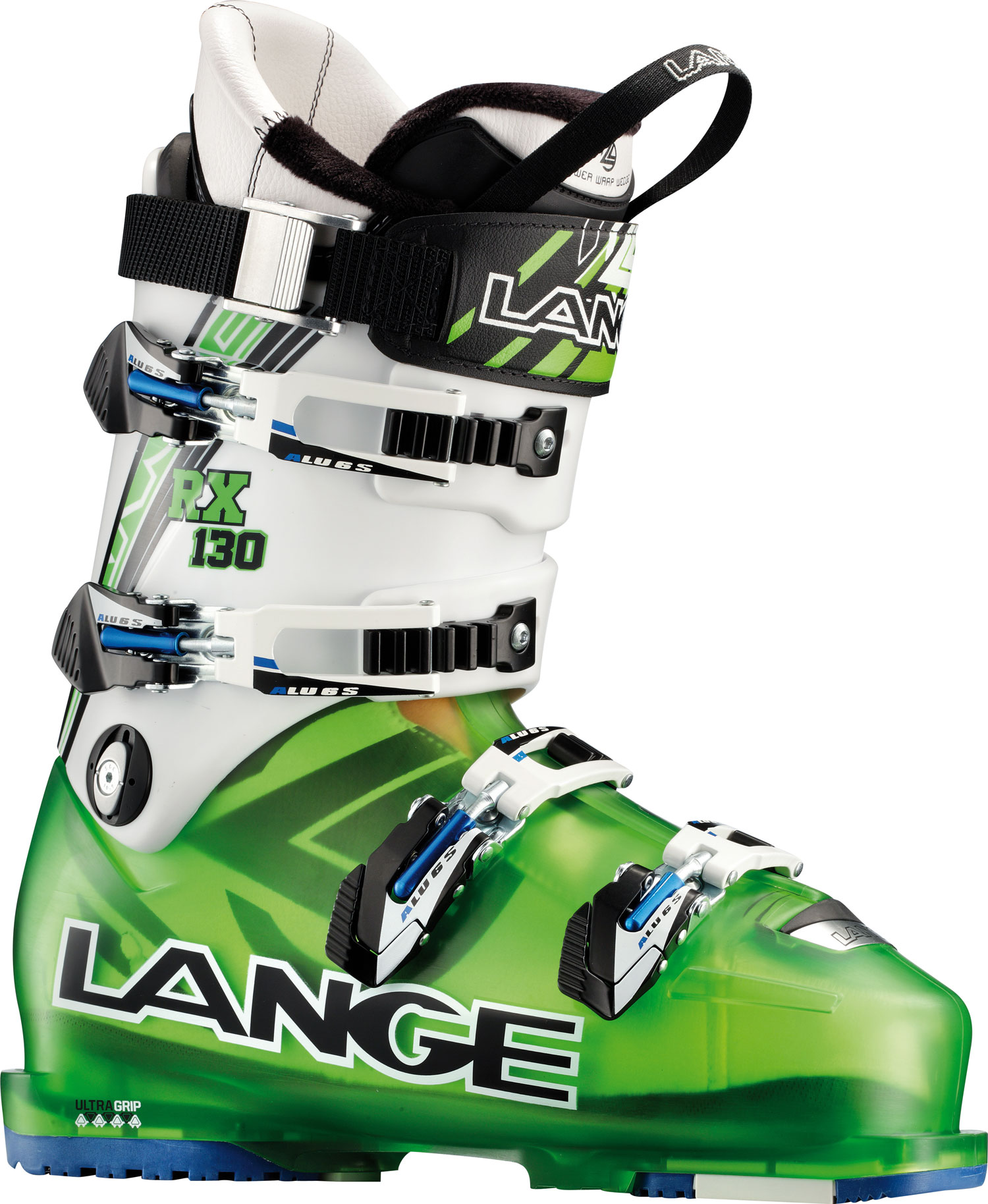 "Ski RX are award-winning, high-performance all-mountain boots based on the acclaimed RS shell. Lange's effective performance and fit solutions: Control Fit, mono-injected shells and modern, efficient stance angles deliver precise fit, enhanced comfort and powerful big-mountain performance. Ultra-Grip replaceable soles provide increased traction and durability for hiking ridgelines and walking to the tram. Featuring ""Choose Your Width"" options in key models, RX boots simply fit more foot shapes better.Key Features of the Lange RX 130 Ski Boots: Last Width 100mm Flex Index 130 Liner Control Fit Canting +/- 1,5 degree Power Strap Camlock 40mm Shell Material Polyether Cuff Material Polyurethane Soles Ultra Grip - $454.95"