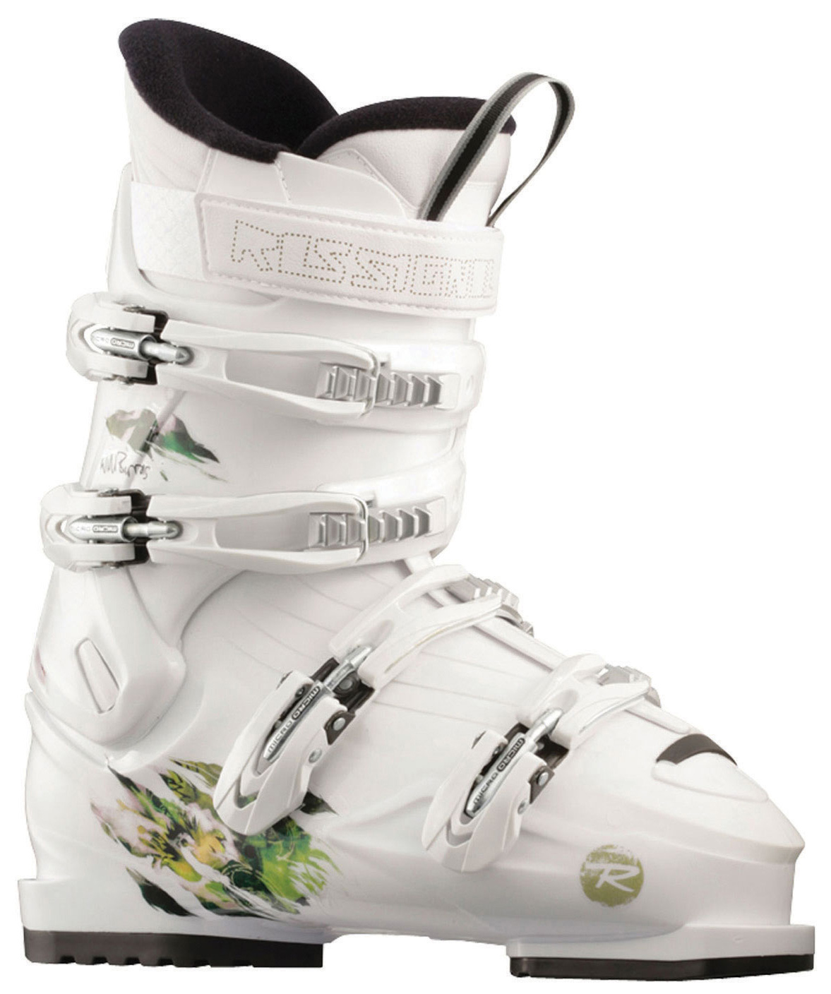 Ski The Rossignol SAS ski Boot is a softer flexing four buckle boot for Jibbers and all-mountain riders alike.Key Features of the Rossignol SAS Ski Boots:  Flex: 70/60  Last: 104mm  Intermediate to Expert Park and Freeriders - $143.95