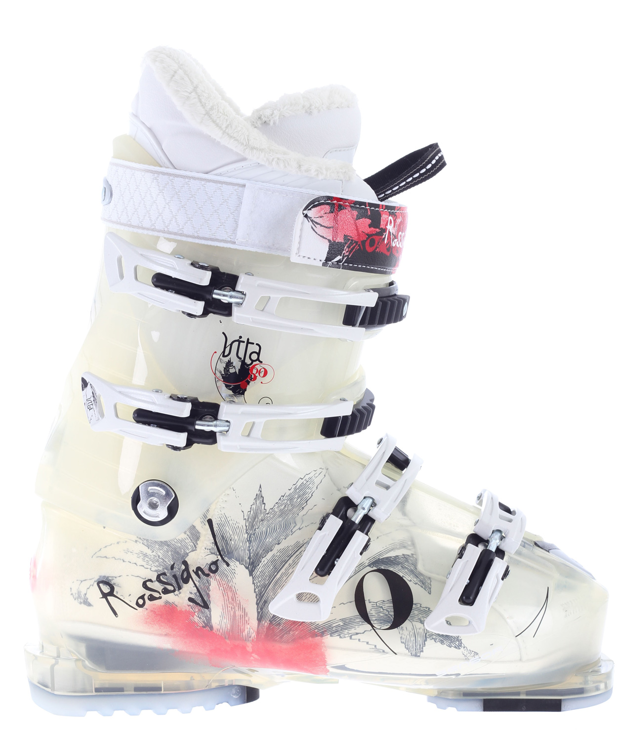 Ski Expert and aspiring expert women skiers that need a medium volume fit that offers performance and comfort.Key Features of the Rossignol Vita Sensor 80 Ski Boots: Flex index: 80 Last: 102mm - $183.96