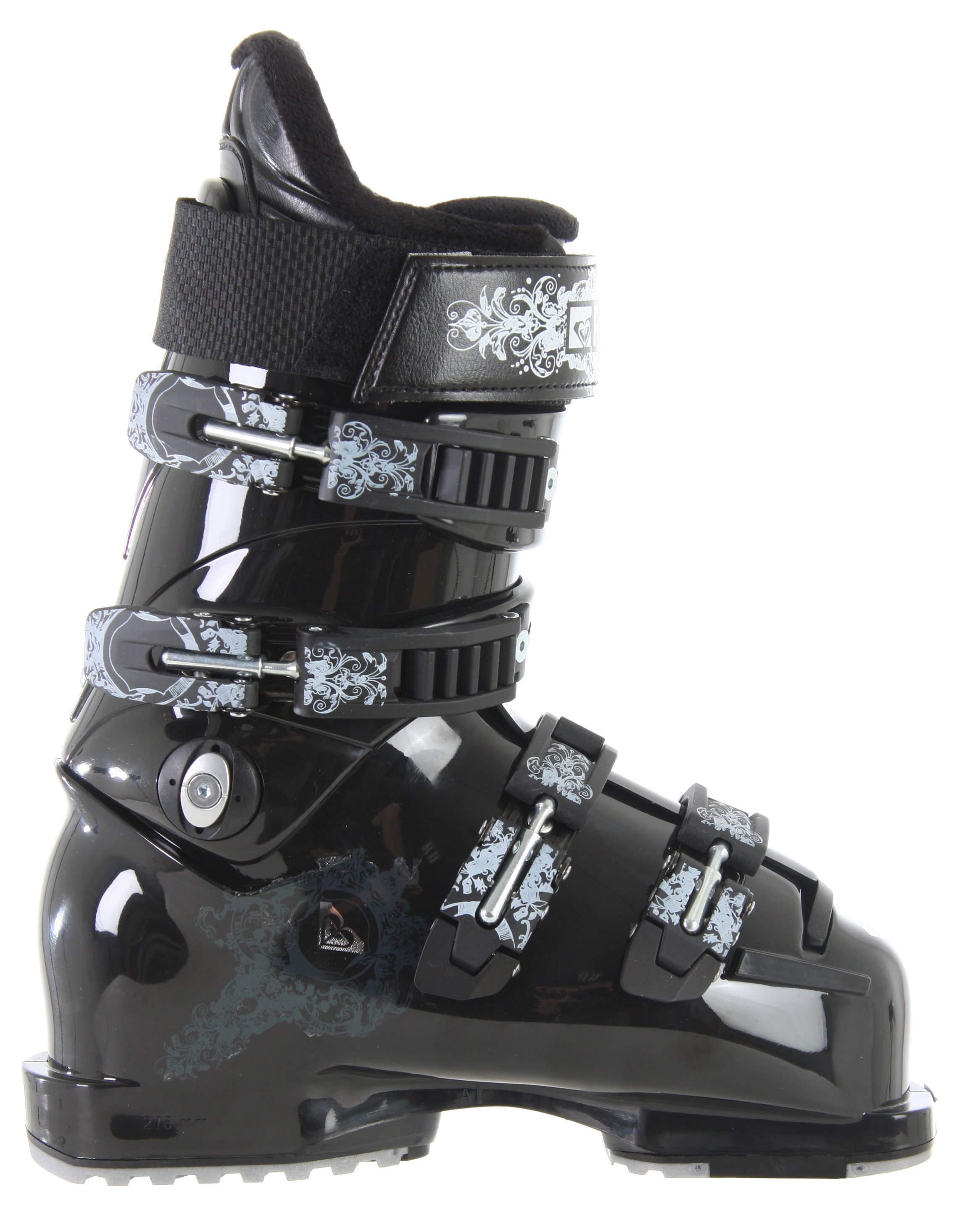 Ski Finally, a women's boot for the true expert. Stiff flex for impossible speed, perfect forward pressure and a precise fit for ultimate control. Go anywhere, try anything - the Roxy Pro ski boots were made for ripping.Key Features of the Roxy Pro Ski Boots: Flex: 110 Sizes: 3-9.5 World Cup replica shell Custom Pro Concept liner Removable rear support - $328.95
