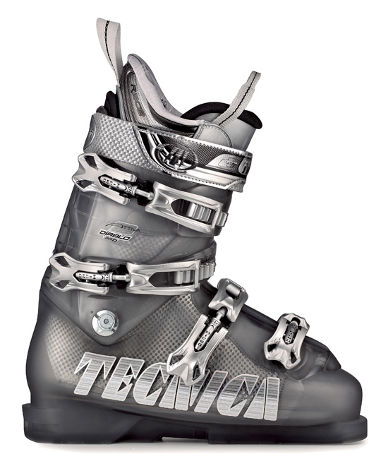 Ski The Tecnica Attiva Pro 90 Ski Boots are undoubtedly a solid choice for any skier on any level of experience. Bearing the physical exterior of something out of a science fiction movie, these boots make use of all sorts of fancy additions, such as the inclusion of magnesium buckles hinged instep catch, to offer additional support and durability. Attiva fur lining is also included to make sure that the boots keep your feet cozy and comfortably warm on the inside of the boot.Key Features of the Tecnica Attiva Pro 90 Ski Boot: 98mm Last Flex: 90 World Cup Race Design Lower Cuff Magnesium Buckles Hinged Instep Catch Dual Cuff Alignment Velcro Spoiler: adjustable & removable Easy Move Cuff Catch Triple Position Cuff Catches Attiva Pro Lite Liner F.I.T. System Tongue Lycra Lining Insert Attiva Fur Lining Tongue Handle Pullstrap - $268.95