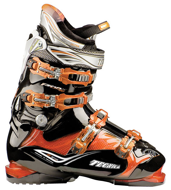 Ski Key Features of the Tecnica Phoenix 90 Air Shell Ski Boots: Air Shell System 3 Density Technology Cuff Alignment Delta Force System 35mm Velcro Powerstrap Carbon Steel Buckles Triple Position Cuff Catches Tongue Handle Pull Strap Fur Lining UltraFit Liner - $363.95