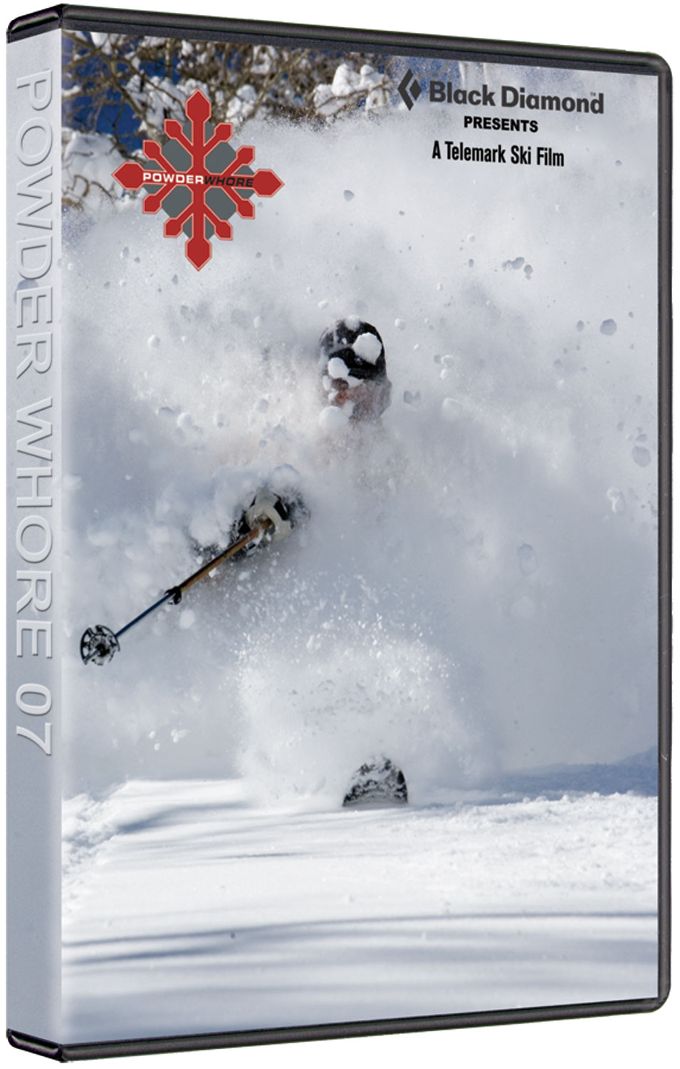 Ski The PW07 Tele Ski Dvd - Featuring: Darrell Finlayson, Andy Rosenberg, Will Cardamone, Charlie Cannon, Andy Jacobsen, Misha Zitkova, Dave Stratton, Johan Howell, Nick De Vore, Noah Howell and Sam Cox Footage. Total Running: 49min.Producer: POWDERWHORE PRODUCTIONS - $2.95