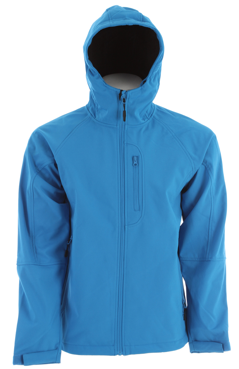 Ski Key Features of the Boulder Gear Softshell Ski Jacket: Waterproof/Breathable stretch shell fabric Stretch fit with fleece lining YKK center front zipper Zippered handwarmer pockets - $58.95
