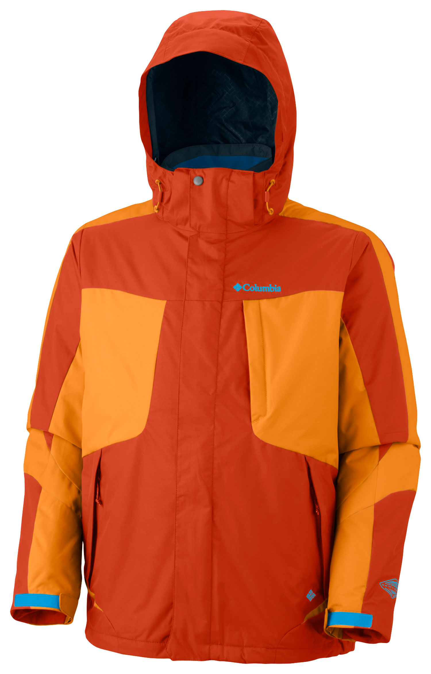 Ski Key Features of the Columbia Whirlibird II Interchange Ski Jacket: FABRIC Shell: 100% nylon Legacy twill, 100% nylon. Lining: 100% nylon taffeta. Liner: 100% polyester. Lining: 100% polyester Thermal Reflective. Insulation: 50% polyester/50% recycled polyester, 80g OH. FIT Modern Classic Omni-Heat thermal reflective and insulated liner Omni-Tech waterproof/breathable critically seam sealed Zip-in Interchange System Removable, adjustable storm hood Drop tail Underarm venting Adjustable, snap back powder skirt Interior security pocket Media and goggle pocket - $160.95