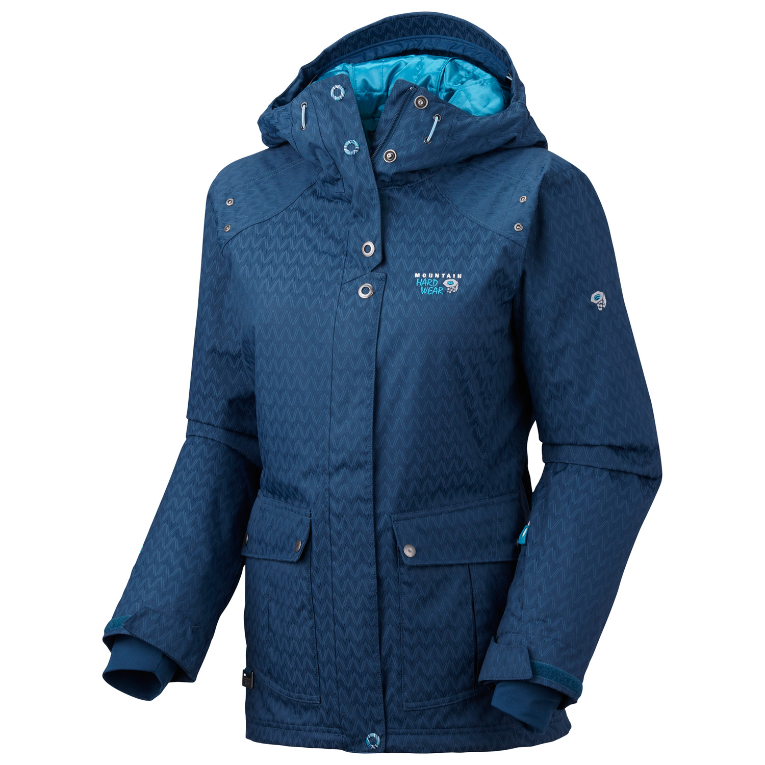 Ski Waterproof and warm, with variable synthetic insulation in the body and sleeves. This jacket is the perfect companion on the ski hill. - $192.95