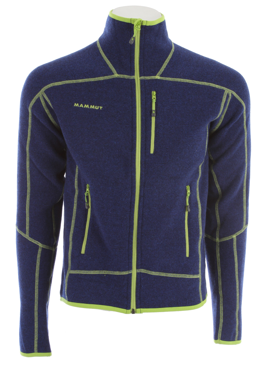 Ski Key Features of the Mammut Phase Jacket Ski Jacket: Pontetorto® Tecnowool® Face material: 48% polyester, 37% wool, 15% polyamide Extremely warm knitted jacket with cozy wool on the outside and soft cuddly fleece on the inside Flatlock seams 2 zip pockets 1 chest pocket with zip - $189.00