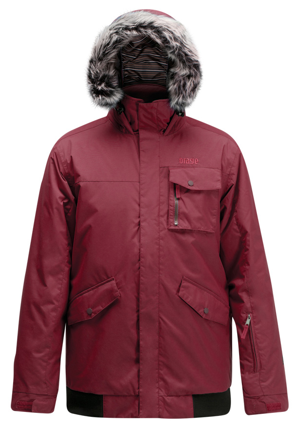 Ski For a comfortable and warm winter, look no further than the Orage Billy Ski Jacket for men. The Billy Jacket is designed with the comfortable insulated interior made of faux fur guaranteed to keep you snug and warm. This jacket also features a fully waterproof exterior, so you don't need to worry about melted snow seeping in. From groomers with your friends to steep drops off summit, the venting system will help you remain at an ideal temperature and shed excess heat and moisture with ease. There is no better choice; the Orage Billy Ski Jacket is the perfect fit!Key Features of the Orage Billy Ski Jacket: 5,000mm Waterproof 5,000g Breathability Original Fit: Orage's classic ski cut Perfect mix of volume, shape & structure. 3D hood cinch Prime 05 2 Ply: 100% Nylon, ECO DWR 80/10, 151 g/m2 From the fall to the spring, PRIME05 fabrics provide just the right level of waterproofing for almost any day outdoors Pit zips Removable fake fur Printed lining with fleece panel inserts Polar hand gaiters Brushed hand pockets MP3 Pocket - $119.95
