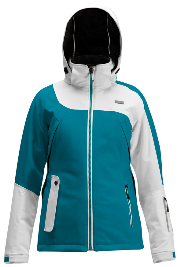 Ski Key Features of the Orage Scapa Ski Jacket: 20,000mm Waterproof 20,000g Breathability Prime 20 Stretch Twill 2 Ply: 100% Polyester, ECO DWR 80/10, 216 g/m2 Thermolite: When DuPont scientists originally created Thermolite, nature was their role model. They discovered that polar bears have fur containing thousands of tiny air pockets that create greater insulation. From this simple discovery, Thermolite and its hollow core fibers were born. Thermolite provides warmth and comfort without weight, even when wet. When we heard this story, we figured skiers who choose to play in showers of frozen water would appreciate knowing we use fabrics designed to rival the performance of an animal that spends a huge portion of its life submerged in snow, ice and freezing water Riri waterproof zipper Lining with extra warm high-pile fleece Full length central mesh venting Brushed hand pockets MP3 Pocket Removable hood Performance Fit: Engineered for skiing Provides full articulation, maximum function & freedom of movement. - $215.96