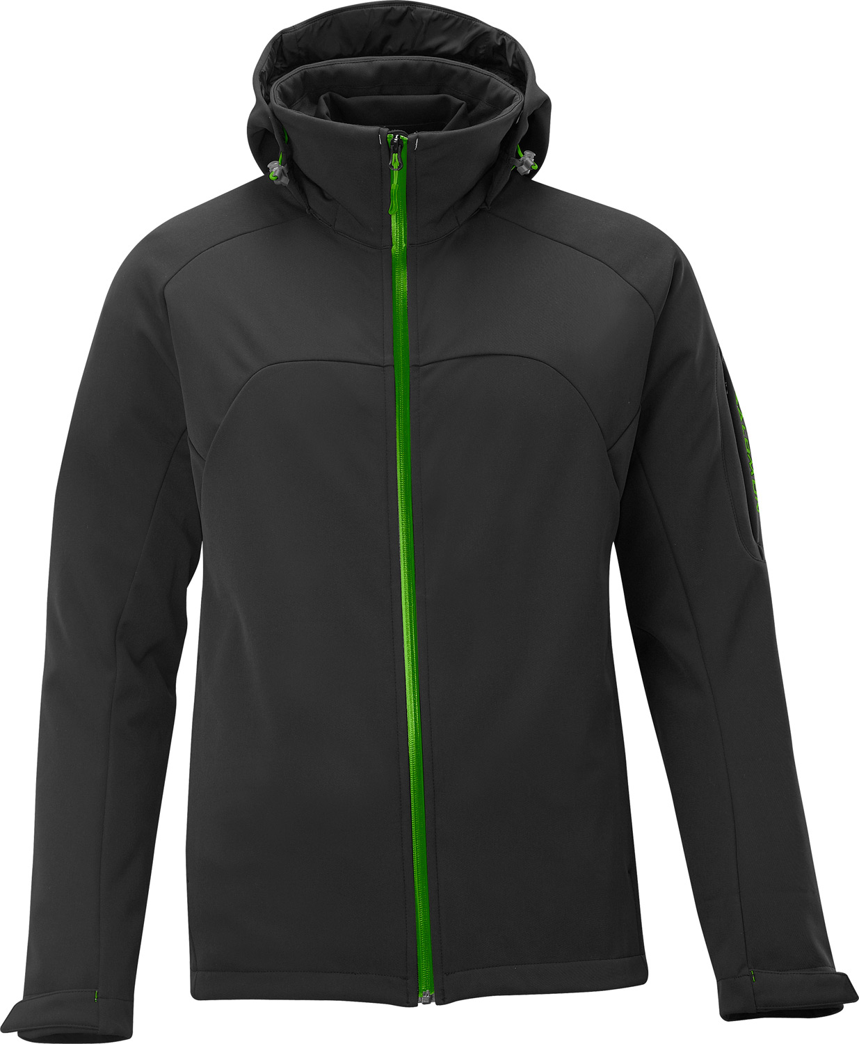 Ski Updated version of Salomon's best selling 3 in 1 jacket, the Salomon Snowtrip 3:1 III Ski Jacket features a ClimaPRO SOFTSHELL outer and stretch softshell inner jacket for maximum versatility.Key Features of the Salomon Snowtrip 3 In 1 III Ski Jacket Black/Light Green X: Softshell ClimaPRO Softshell 3L, ClimaWIND Softshell 3 in 1 ClimaWIND Inner Jacket Removable zip-off hood with 3D adjustment Powderskirt Arm lift pass pocket Inner jacket: PES 86%, EL 15% Body: PA 86%, EL 14% Fit: Active - $220.95
