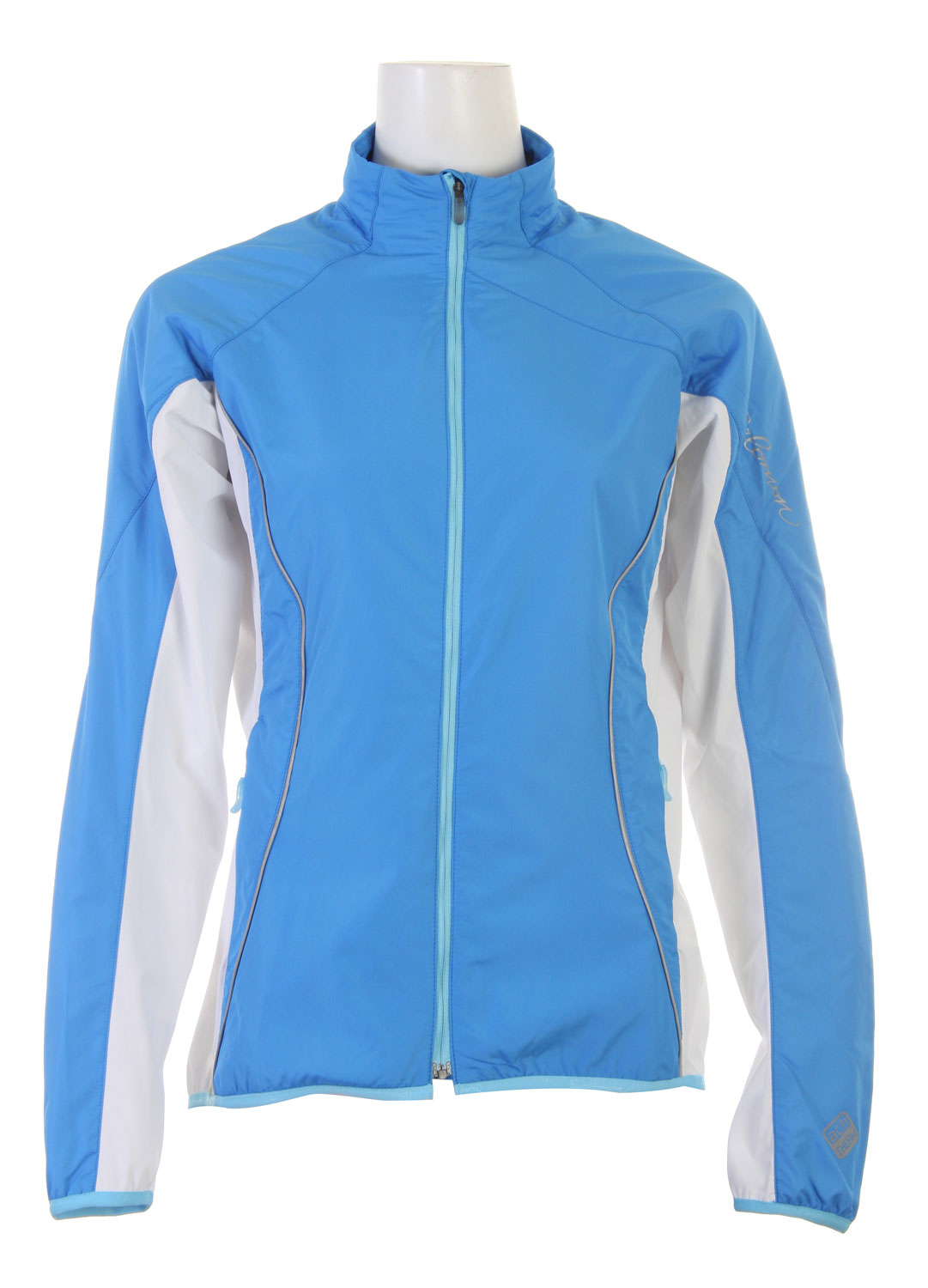 Ski This jacket provides light insulation, great breathability and motion-friendly fit for winter Nordic skiing.Key Features of the Salomon Superfast Ski Jacket: SMART SKIN actiTHERM stretch poly knit ClimaWIND Teflon taffeta 2 zipped pockets Reflective branding front & back Slim fit - $68.95