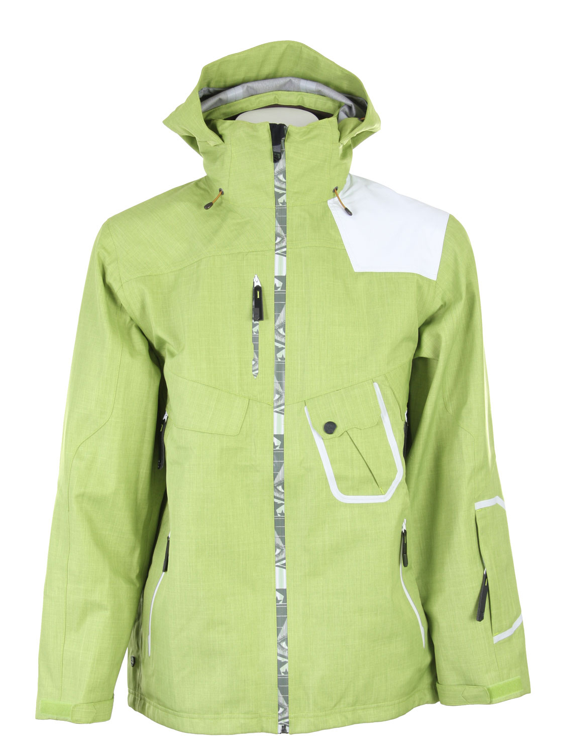 Ski A technical 3-layers climaPRO storm jacket, which features zip-in connection with the sideways pants.Key Features of the Salomon Sideways 3L Jacket: 3L 100% Taped Powder collar Recco - $259.95