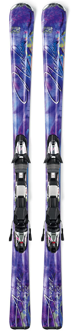 Ski Designed for intermediate level women looking for a ski that will support their technique. This ski offers versatility to confidently confront any conditions and still offer the forgiveness that is needed to have fun all day long. Key Features of the Nordica Axana Skis w/ Sport Fastrak 3 Bindings: Ski Sizes: 144,152,160,168 Sidecut Radius: 11-13-14-16 Dimensions: 116-70-100 Ski Construction: Energy Frame Composite Type of Core: Comp Mono Wood Base Type: UHMW sintered graphite Electra Gallium Binding: N Sport X CT Din Setting: 2.5-10 TC Plate: X CT - $278.95