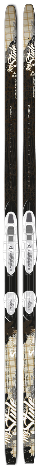 Ski Key Features of the Fischer Mystique Skis w/ FP9 Bindings: SIDECUT: 45 - 50 - 45 LENGTHS: S (164), M (174), L (184) WEIGHT / LENGTH: 1320 g / S BASE: Protec - $279.95