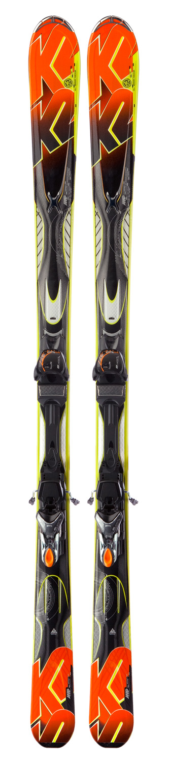 Ski A more forgiving version of the Rictor, this wellbalanced ski comes equipped with All-Terrain Rocker and an attractive price tag. The Impact is the proficient skier's carving weapon of choice that is not afraid to lead them onto off-piste adventures.  Performance: Groomed: 60%, Ungroomed: 40%    Construction: Triaxial Braided, Fir/Aspen Core    Radius: 16m @ 174    Binding: K2/Marker MX 11.0 TC    Dimensions: 127/80/109    All-Terrain Rocker - $519.95