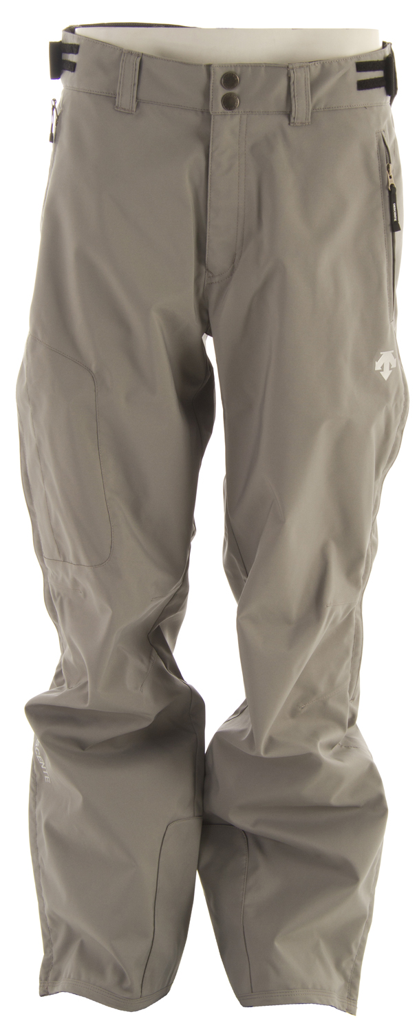 Ski Key Features of the Descente Best Ski Pants: Oxkin Outer fabric Shell Relaxed Fit - $129.95