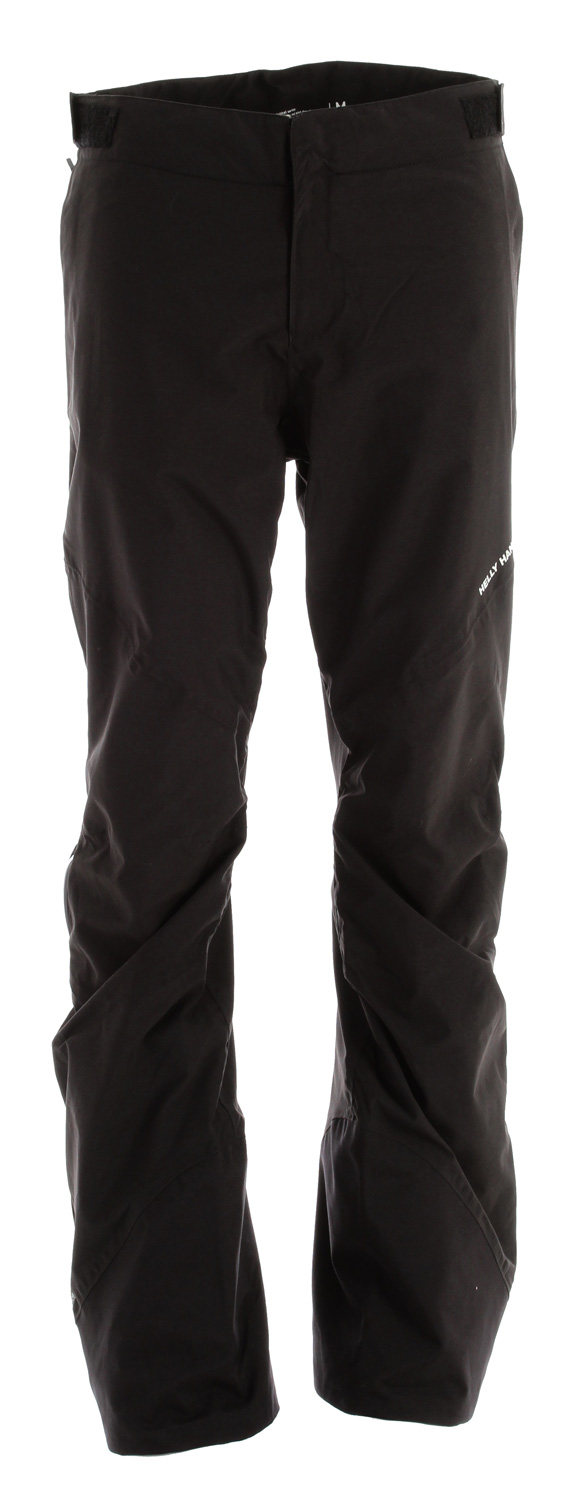 Ski A lighter 2layer construction pant for backcountry adventures. 3/4 sidezips and bottom reinforcement per specification of our friends in the backcountry.Key Feature of the Helly Hansen Zeta 2L HT Snow Pants: 14,000mm Waterproof 18,000g Breathability 100% Polyamide Helly Tech PERFORMANCE 2ply laminate construction Quick-dry mesh liner 3/4 length YKK Aquaguard side zips YKK zippered handwarmer pockets Velcro adjustable waist Belt loops Attached snow gaiter Knee articulation Harness and pack compatible design - $111.95