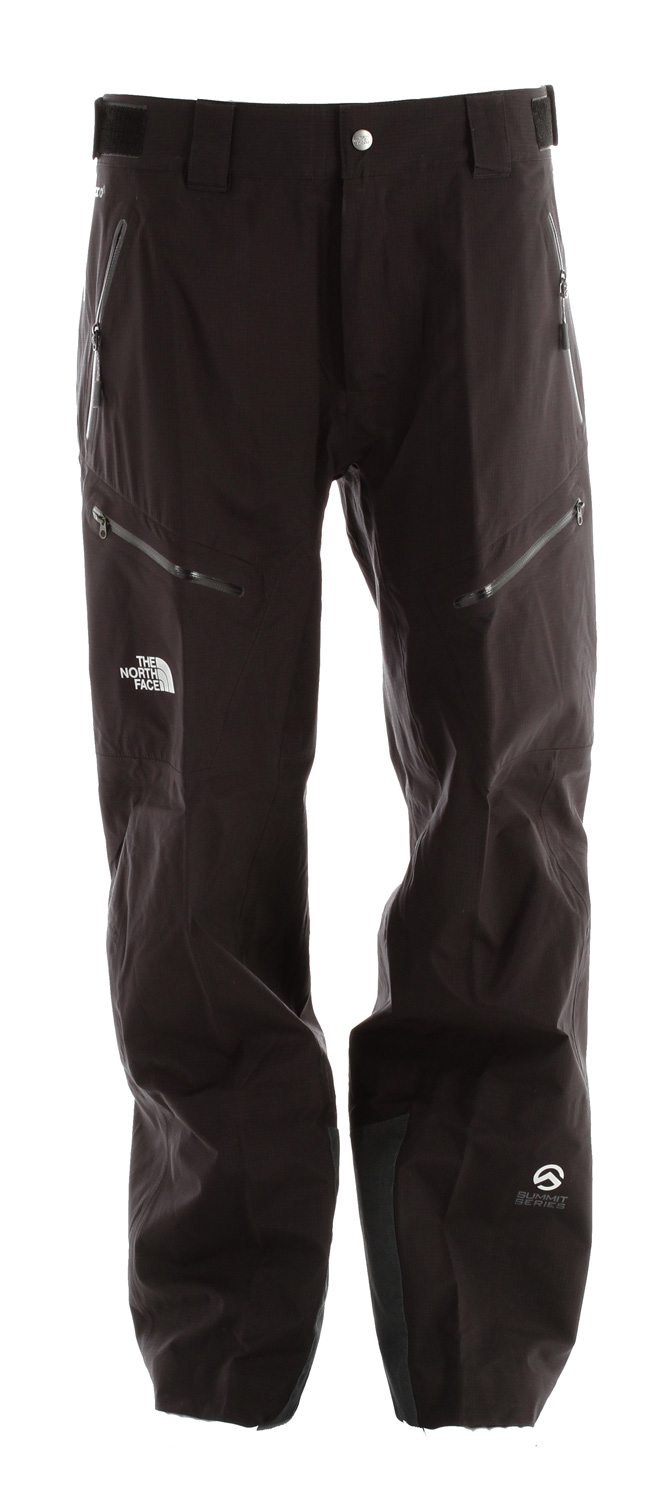 Ski Clean lines, an athletic fit and waterproof/breathable 3l gore-tex protection offer highly versatile performance inbounds or out with the The North Face Enzo Ski Pant.Key Features of The North Face Enzo Long Ski Pants: Know Boundaries Snow Safety label GORE-TEX Pro shell 3L, cut-resistant kickpatch and edge guards Waterproof, breathable, fully seam sealed Recco avalanche rescue reflector PU waterproof, laser-cut, bonded zips Zip integration Adjustable waist tabs Hand and thigh zip pockets Rear crossflow thigh vents Boot hook StretchVent gaiter with gripper elastic Chimney Venting system Reinforced kickpatches - $261.95