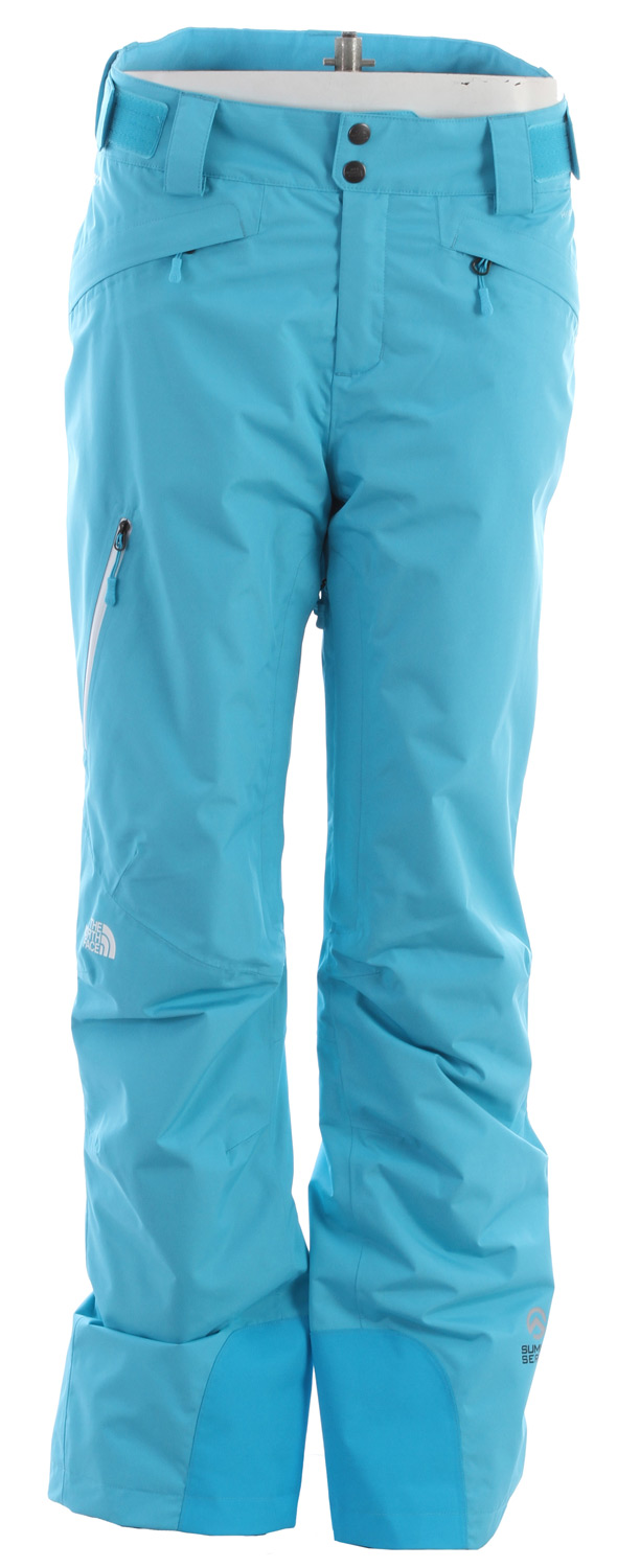"Ski Rip the backcountry in this highly breathable, waterproof pant with rugged durability and The North Face FlashDry technology, which dramatically improves dry time and breathability.Key Features of the The North Face Kannon Insulated Ski Pants: Avg Weight: 669 g (23.6 oz) Inseam: S 30"", R 32"", L 34"" Fabric: body: 50D 119 g/m2;100% polyester 2.5L HyVent with FlashDry laminate ripstop weave insulation: 40 g/m2 FlashDry fiber Waterproof, breathable, fully seam sealed Recco avalanche rescue reflector Polyurethane (PU) waterproof, laser-cut, bonded zips Adjustable waist tabs Hand and thigh zip pockets Rear flow vents Chimney Venting system Reinforced edge guards Pant-a-lock compatible - $173.95"