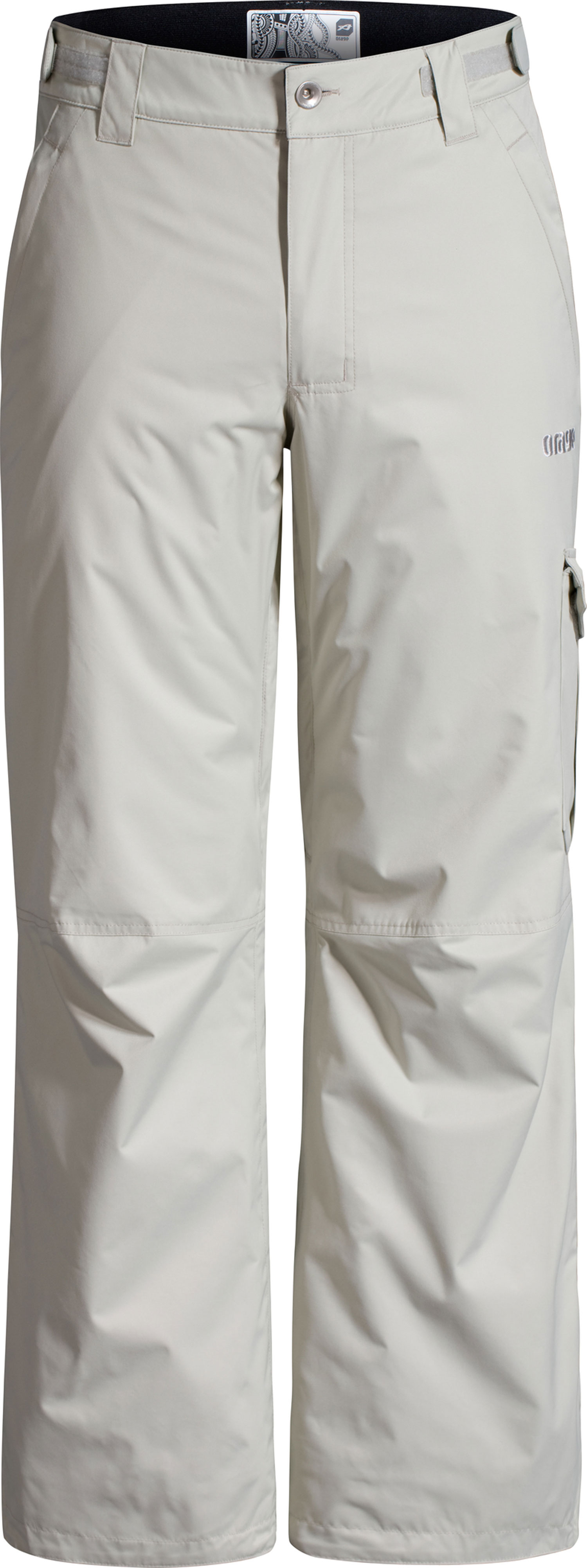 Ski Key Features of the Orage Benji 2 Ski Pants: Prime 10: Nylon twill 2 ply 100% Nylon, ECO DWR 80/10, 160g/m2 Strategically seam sealed Vents Adjustable waist band Lower leg opening with reinforcement Snow gaiters with elastic grip - $125.95