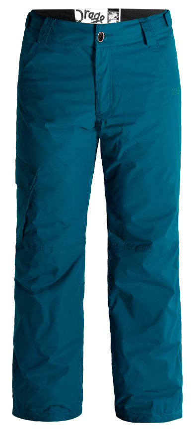 Ski Key Features of the Orage Edgewood Ski Pants: 5,000mm Waterproof 5,000g Breathability Prime 05 2 Ply: 100% Nylon, ECO DWR 80/10, 151 g/m2 Prime 05: From the fall to the spring, PRIME05™ fabrics provide just the right level of waterproofing for almost any day outdoors Printed lining with fleece panel inserts Adjustable waist band Original Fit: Orage's classic ski cut Perfect mix of volume, shape & structure. - $69.95