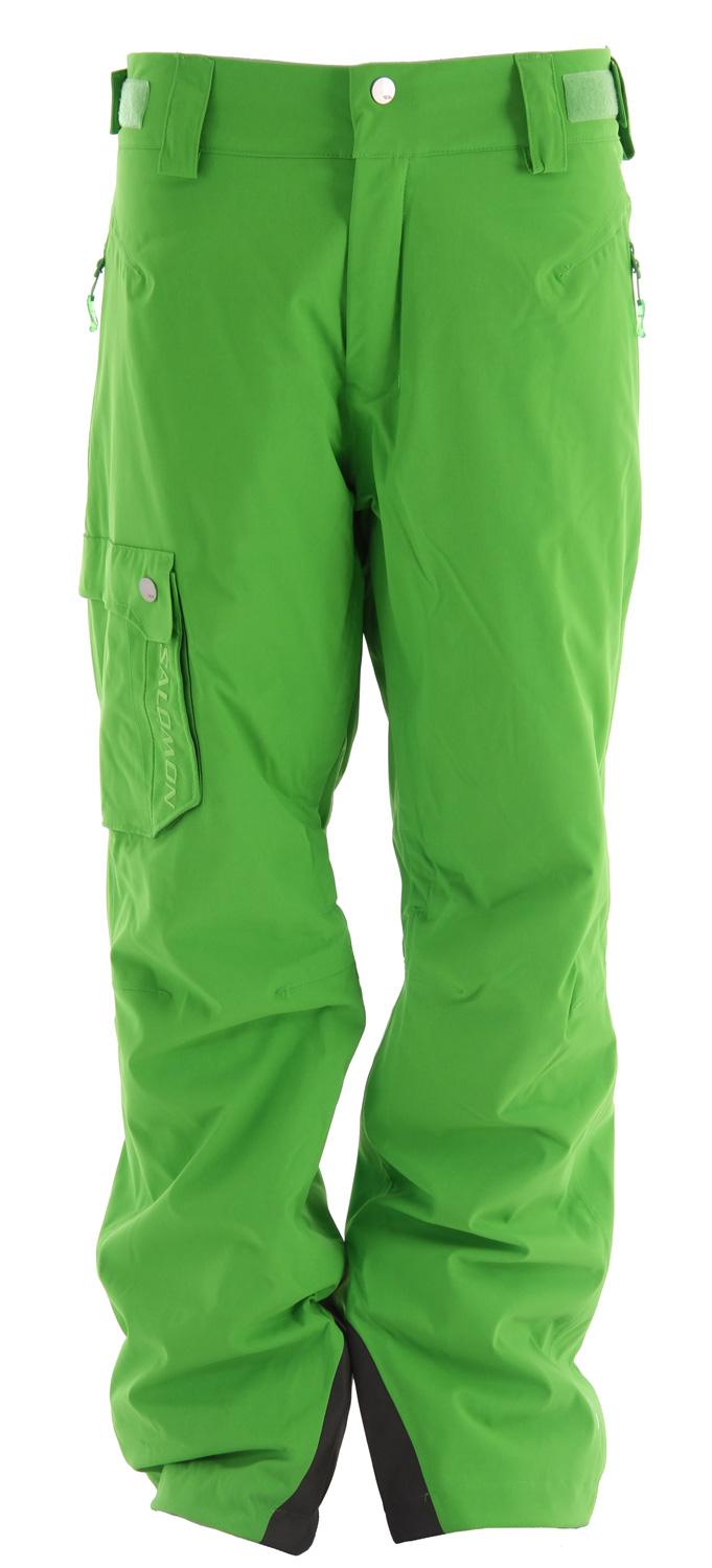 Ski Relax fitting, insulated pants with stretch ClimaPRO fabric, inner leg vents. The Salomon Response II Ski Pant.Key Features of the Salomon Response II Ski Pants: ClimaPRO 2L ActiLOFT insulation 60gr 100% Taped Waist adjustment Inner leg air-vents with mesh backing Lining insert: PES 100% Padding: PES 100% Lining: PA 100% Body: PA 100% Fit: Relax - $111.95