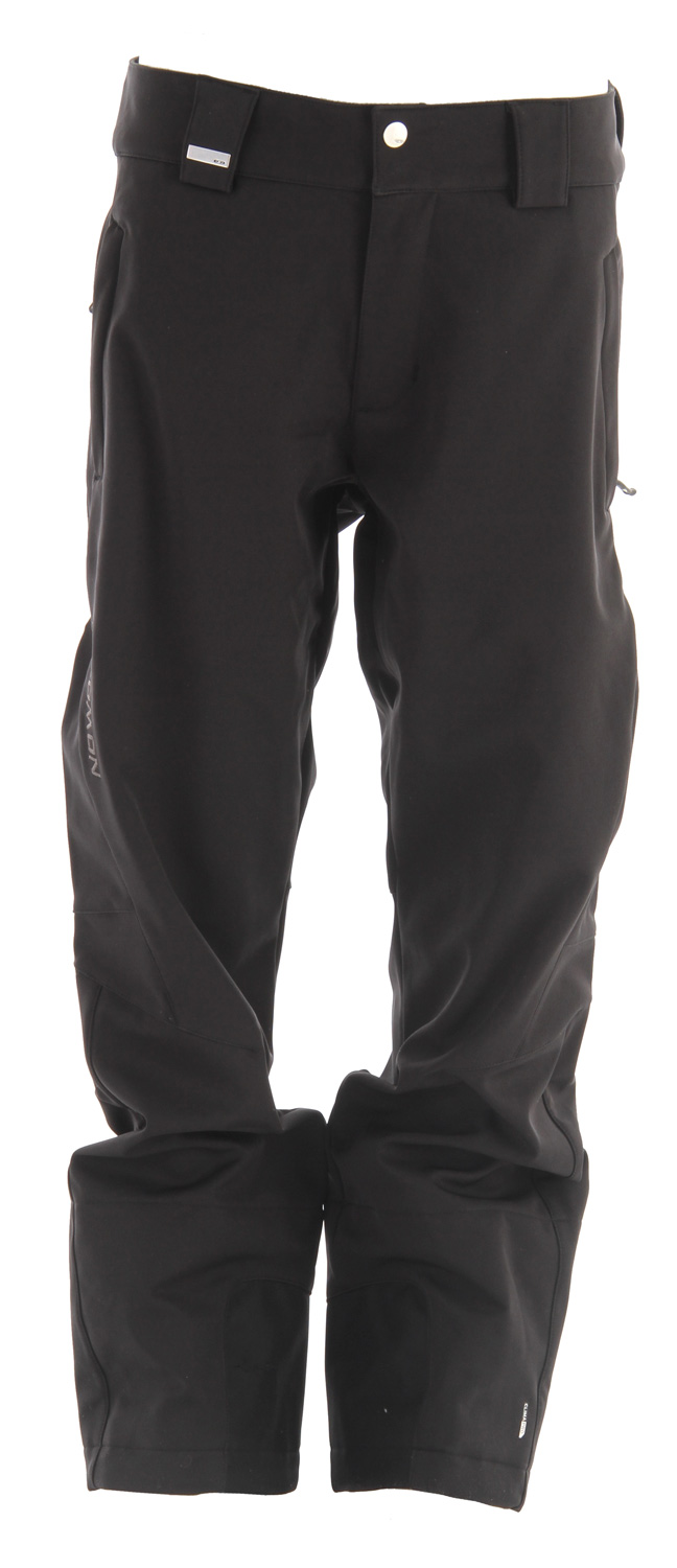 Ski Active fitting, stretch ClimaPRO SOFTSHELL pants designed to match the Snowtrip or Velocity jackets. The Salomon Snowtrip II Ski Pant.Key Features of the Salomon Snowtrip II Ski Pants: Softshell ClimaPRO Softshell 3L Internal Waist adjustment Body: PES 86%, EL 14% Fit: Active - $141.95