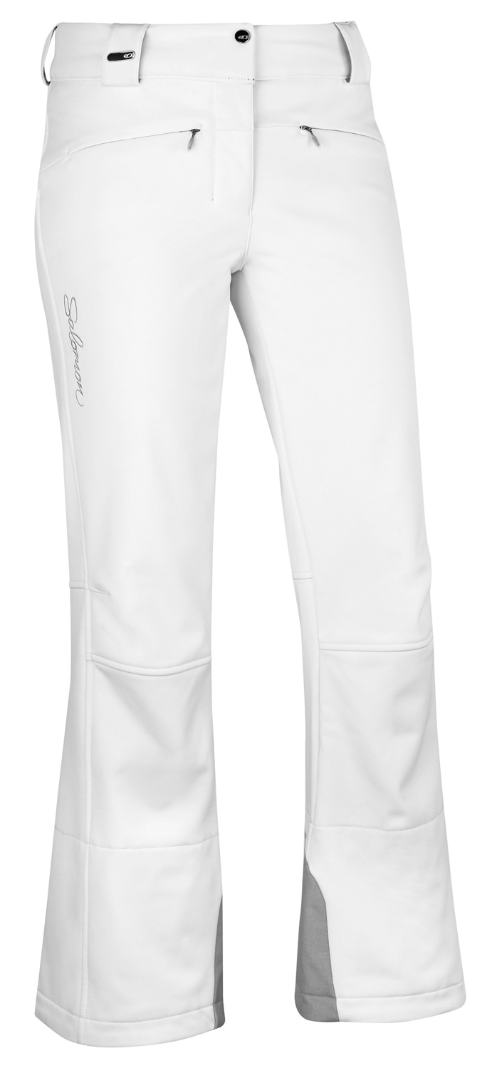 Ski Active fitting, stretch ClimaPRO SOFTSHELL pants designed to match the Snowtrip or Velocity jackets. The Salomon Snowtrip II Ski Pant.Key Features of the Salomon Snowtrip II Ski Pants: Softshell ClimaPRO Softshell 3L Internal Waist adjustment Body: PES 86%, EL 14% Fit: Active - $113.95