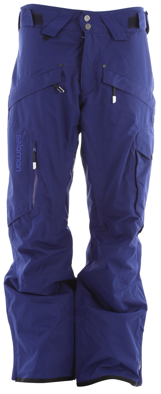 Ski Stylish print designs, a soft face fabric and inner legs vents make this 2L pant comfortable and cool for year round riding.Key Features of the Salomon Supernatural II Ski Pants: ClimaPRO 10k/10k Actiloft insulation 60GR/M Inner leg air vents with mesh backing Relax fit - $153.95