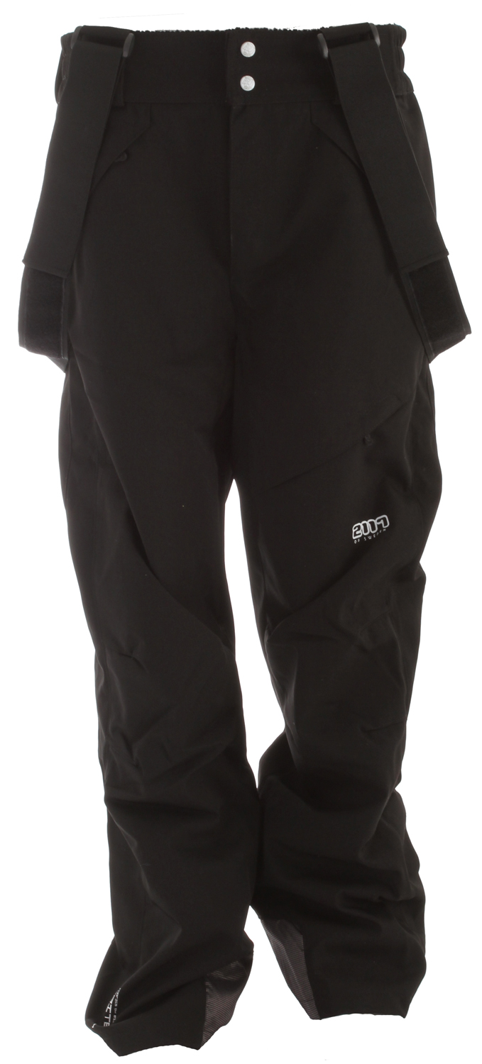 Ski Power through the powder in morning, lap the park during lunch, and search the trees for leftovers in the afternoon with the Tallmossen ski pant. European styling with Tritech fabric makes these pants waterproof and breathable and the adjustable waist with suspenders will keep them feeling comfy season after season. Articulated knees allow for comfortable fit and excellent freedom of movement while the snow gaiters are keeping the snow and ice out. Versatile performance inbounds or out.Key Features of the 2117 Tallmossen Ski Pants: 8,000mm Waterproof 3,000g Breathability Loose cut Two side pockets One back pocket Ski card pocket on left thigh Elastic waist Snow gaiters in leg end Pre shaped knees - $89.95