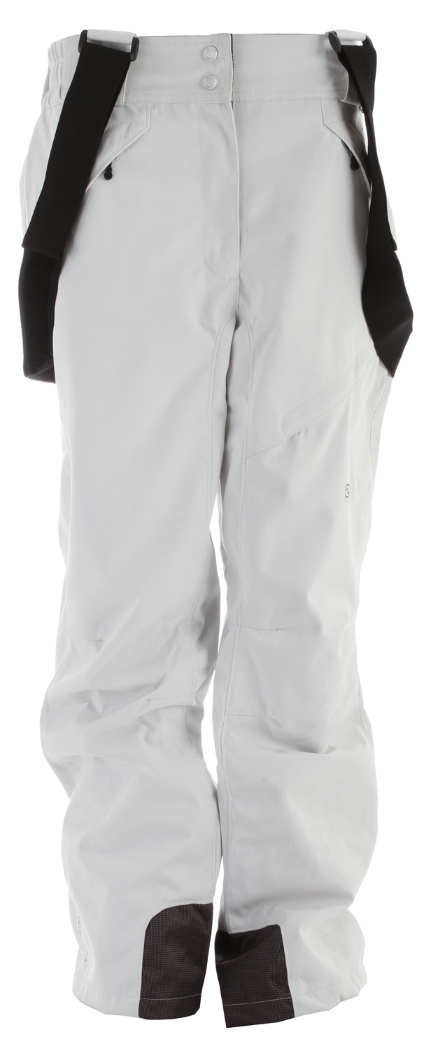 Ski Take charge of winter with this fully loaded pant, made with Tritech fabrics that are waterproof and breathable the Tallmossen Ski pant will protect your lower extremities from snow and ice. These sleek fitting ski pants are styled for on mountain comfort with articulated knees, adjustable elastic waist, suspenders and leg snow gaiters. These feature rich pants keep you looking good and feeling great as you traverse through the tree lines.Key Features of the 2117 Tallmossen Ski Pants: 8,000mm Waterproof 3,000g Breathability Comfort cut Two side pockets One back pocket Ski card pocket on left thigh Elastic waist Snow gaiters in leg end Pre shaped knees - $89.95