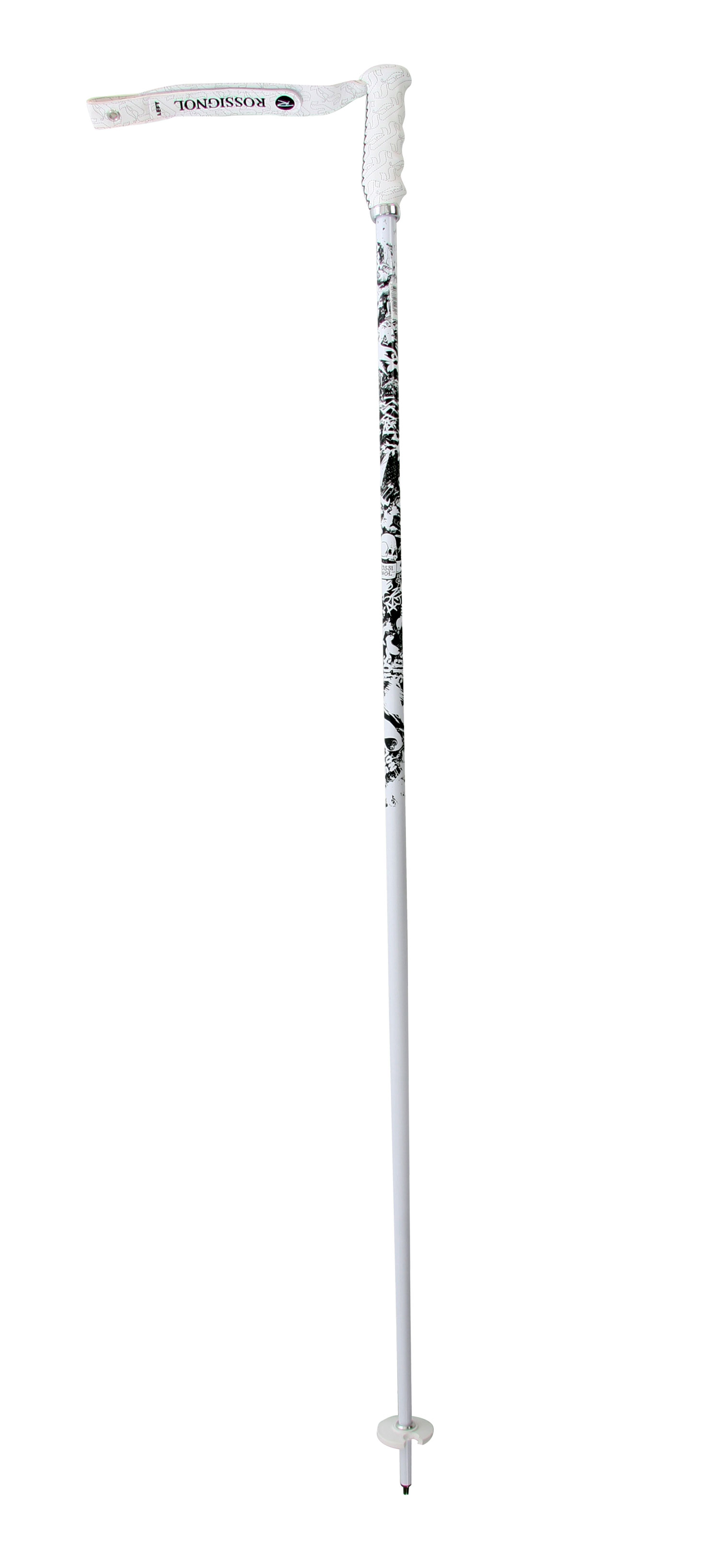 Ski Key Features of the Rossignol Sas Pro Ski Poles: Strap : Velcro Vinyl Basket : Course 51 Tip : Carbide Shaft - diameter : 18 Shaft - type : 7075 x 0,8 Grip : World Cup Vinyl - $59.95