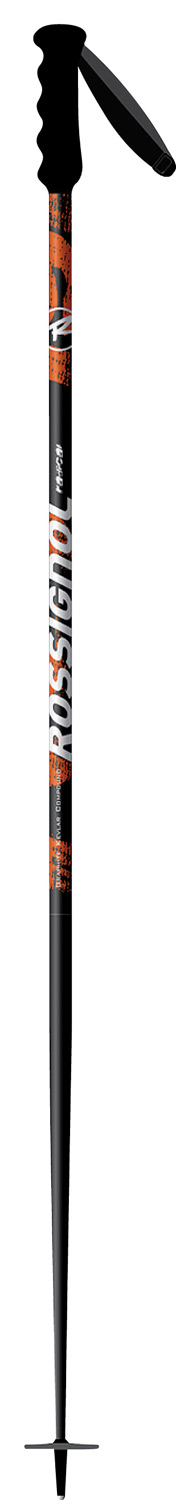 Ski The Radical SL is a World Cup Slalom race pole with a durable, lightweight triangular aluminum race shaft and World Cup grip.  Strap WorldCup Velcro - Ergonomic    Basket Course 51    Tip Carbide    Shaft Triangular Oversized    Shaft - Diameter 18 mm    Shaft - Type Zicral    Grip WorldCup - $44.95
