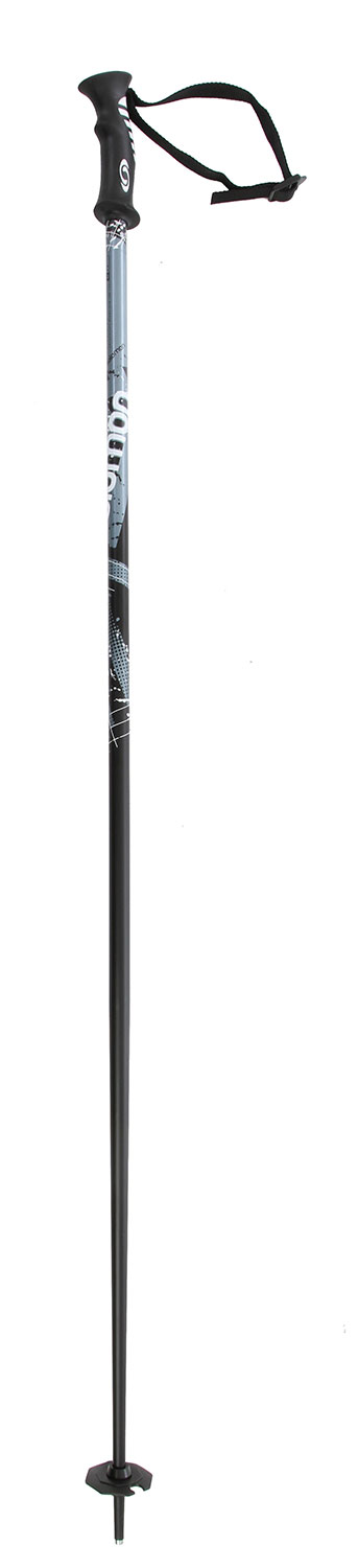 Ski Light weight aluminum pole with elegant, modern graphics. For skiers who want value and straightforward performance.Key Features of the Salomon Arctic Ski Poles: Screen printing design Standard basket Bi-material grip SHAFT Alu ** Shaft diameter: 18 mm Standard strap Ice tip - $27.95