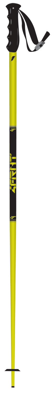 Ski Key Features of the 4FRNT Dubs Ski Poles: 18mm 5085 Aluminum Shaft Fixed Disc System Rubber Race Grip Style - $39.95
