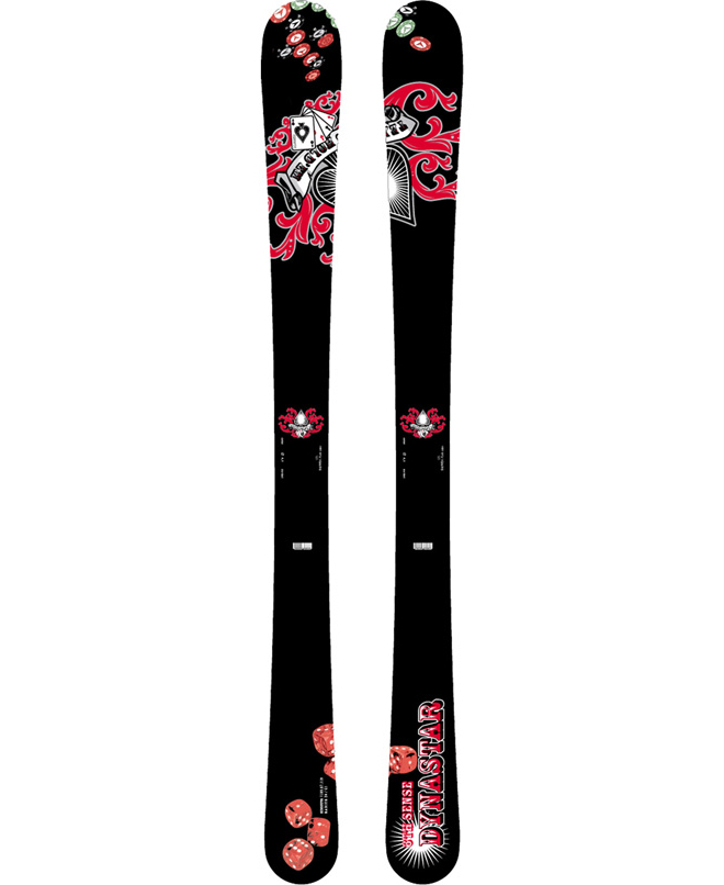 Ski Twin tip, wide waist and solid construction make the Dynastar 6th Sense Team Ski great for juniors that rip.Key Features of the Dynastar 6th Sense Team Skis: Sidecut: 117-76-105 Lengths: 105, 115, 125, 135 Cap Construction Composite Core Isospeed Base - $118.95