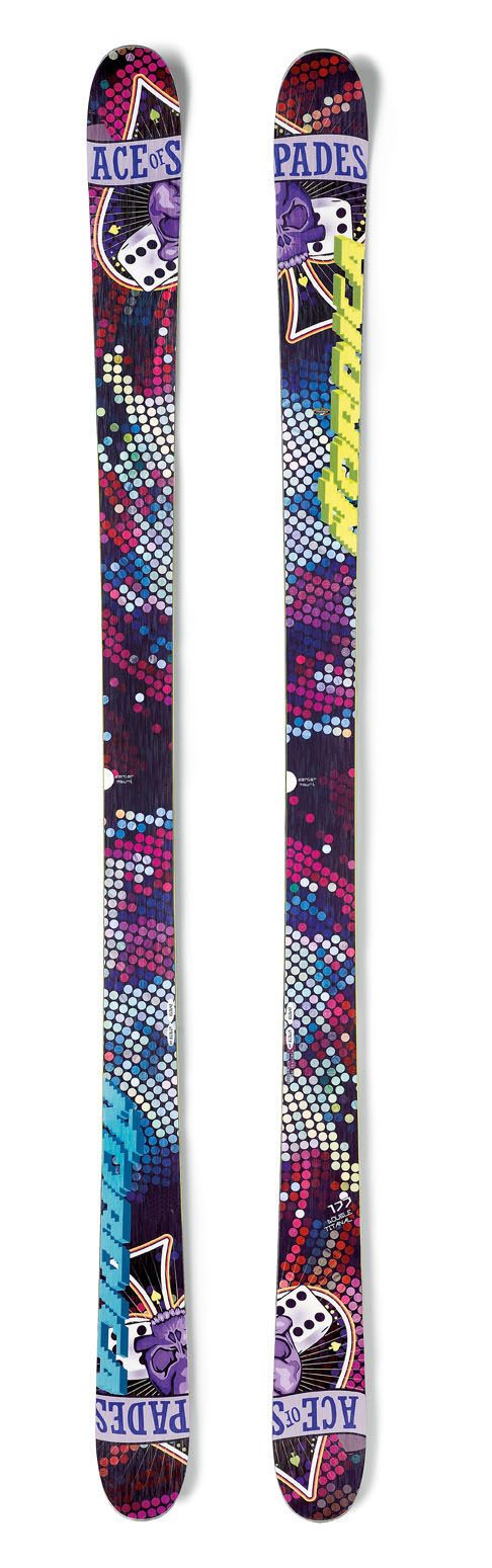Ski Key Features of the Nordica Ace Of Spades Jr Skis: Energy frame Ca partial sidewall Twin Pop cam rock - $159.95