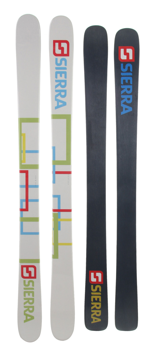 Camp and Hike Hitting park jumps, rails, hiking the pipe all day, the Sierra SB Twin skis are the skis you want to be carrying. Butters, carving take offs, switch riding, and holding an edge in the pipe, they got it. - $136.40