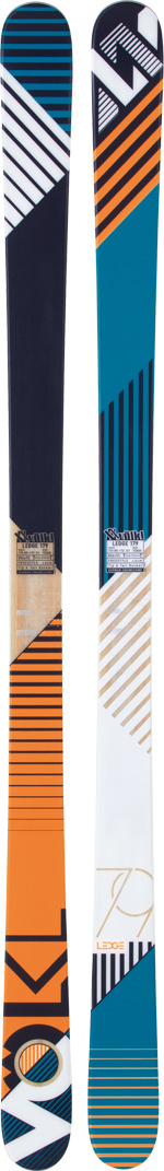 Ski Key Features of the Volkl Ledge Skis: Multi layer Sensorwood Power/Tough box Flat Tip and Tail Rocker - $278.95