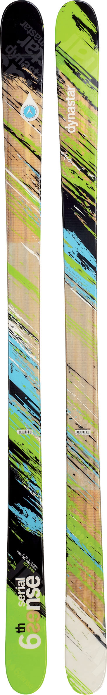 "Ski 6th Sense twin tips feature award-winning, all-mountain freestyle performance for park laps and powder days. spring-loaded boost, powerful edge grip and enhanced durability provide competition-level park performance whether carving up icy, pipe walls or attacking slopestyle courses. Twin rocker combined with spring blade Technology and dynastar's high-performance sandwich constructions delivers surfy and playful floatation in powder. Whether floating over man-made features or charging the deepest snow conditions, dynastar's 6th sense leads the way. Key Features of the Dynastar 6th Sense Serial Skis: Twin rocker technology: significant tip and tail rocker for easy steering, speed control and playful floatation Low camber underfoot provides increased edge grip, power and on-trail performance Spring blade: a wood core is machined to varied thicknesses while varied lengths of fiberglass layers are stacked creating more energy and durability Provides springboard effect for incredible ""load-up and pop"" capability and landing shock absorption Sandwich laminate construction: wood cores with metal and high tech laminates provide the best feel, balance, power and stability Vertical sidewalls dual density: deliver the ultimate edge grip, power and balance Torsion box: multiaxial fiber wrapped and layered around core for torsional stiffness, stability and increased energy Sidecut: 132-98-120mm - $239.95"