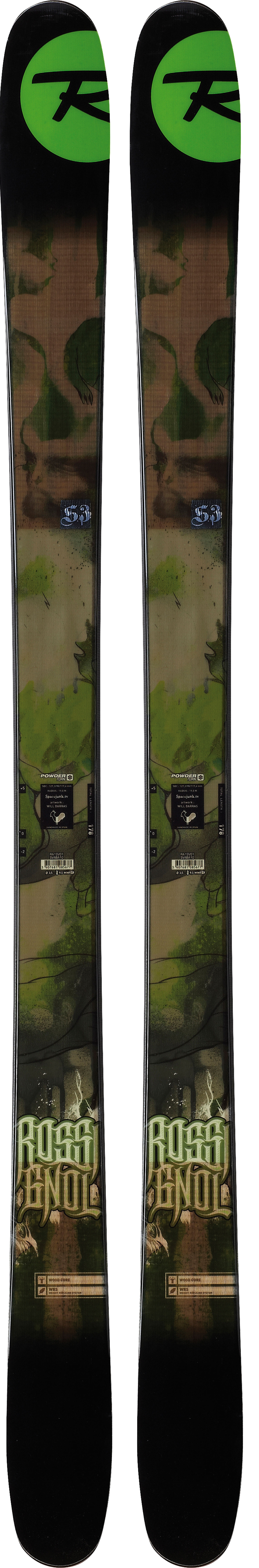 Ski The S series includes several world-renowned freeride skis aimed at big mountain riders, side country aficionados and everyone who loves exploring off-trail. The award-winning, game-changing S3, provide amazing flotation and tracking, easy-steering and speed control, and respectable skiing on groomers. The S Series has significant consumer demand and sky- rocketing sell-through. These skis appeal to everyone from hard-core to aspiring powder enthusiast and should be an essential consideration for every specialty retail assortment.  Powder Turn Rocker   Centered Sidecut   Spoon Tip   Structure: Sandwich   Core: Wood      Laminates: Fiberglass   Sidecut: 128/98/118   Radius: 23M @ 186   Recommended Binding (not included :  Axium 120 Xl - $359.95