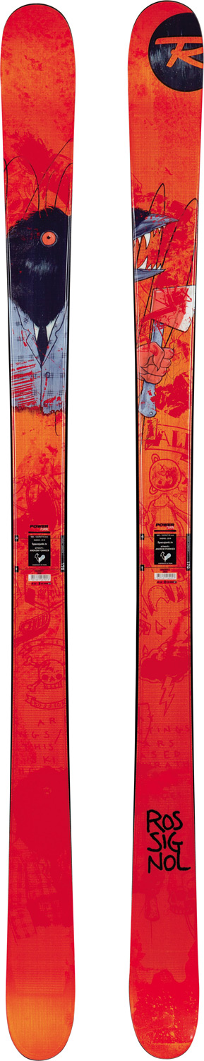 Ski Rossignol Storm Skis 2013 are your all around freestyle hell bent on destroying kickers, rail street session and super pipe walls. The Storm's deliver precision turning even at lower speeds with a longer sidecut and hard popping camber profile. The Jib tips keep it balanced while in the park getting your tech on without washing out on big landings. Slash and dash in a storm of shred with your new shred.Key Features of the Rossignol Storm Skis: Cap Construction Mini Cap Sandwich Construction Wood & Composite Core Camber with Jib Tip Twin Tip Sintered Base Full-wrap Edge Freestyle/ Park & Pipe Intermediate to Advanced Skill Level Dimension: 122/92/115 (@180cm) Radius: 22.6m (@180cm) - $279.95