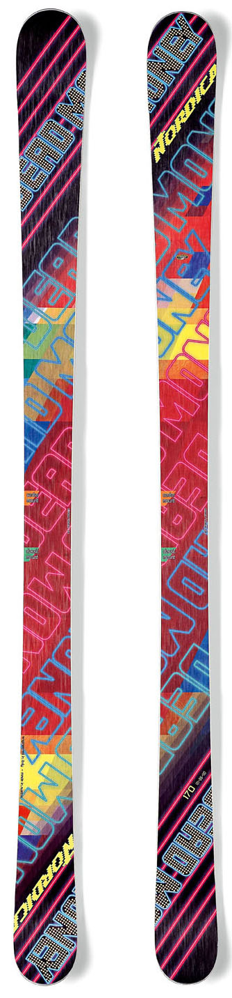 Ski Key Features of the Nordica Dead Money Skis: Energy Ca Construction Twin Pop CamRcok - $324.95