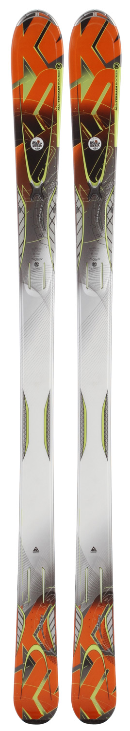 Ski Built with All Terrain Rocker Coupling outstanding versatility with the forgiveness of a triaxially braided wood core, new Carbon Web and integrated MX binding, the Impact is on a collision course with success. The Impact feels at home on the groomers but isn't afraid to take a trip off-piste. If you are an advanced skier looking for the ultimate versatility within the boundaries of any resort, this ski has everything you need. * PERFORMANCE: Groomed: 60%, Ungroomed: 40% * Triaxial Braid * Hybritech Sidewall * Fir / Aspen Core * RADIUS: 16m @ 174 - $289.95
