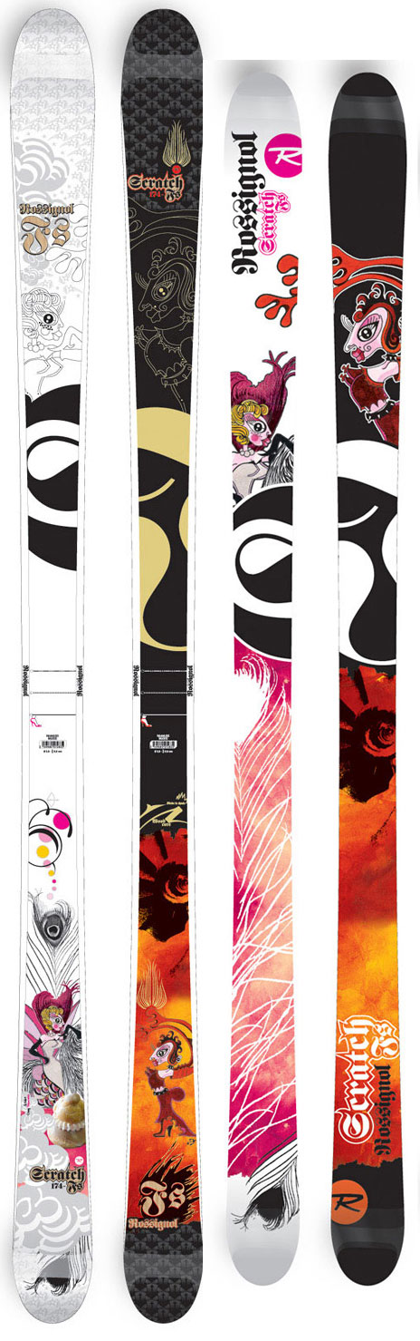 Ski The Girl FS paints the perfect picture between all-terrain and air-to-carve versatility. This Picasso of freestyle skis shows off your steeze in the park & pipe or all over the entire mountain. The Girl FS will let you express yourself with amazing performance whether you are boosting airs or shredding the gnar. Built with Rossignol's women's F.I.T. technology.Key Features of the Rossignol Scratch Girl FS Team Skis: 40% Backcountry / 60% Jib 3 Mounting Points 30 Degree Slanting Sidewalls Mini Cap Rebound Tip Wood Core WRS- Weight Reduction System Sidecut : 116/84/109 Radius: 19.7(174) - $212.76