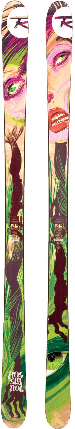 Ski Rossignol's Park and Pipe skis include modern, rocker technology, proven park and pipe performance, bold graphics and exceptional durability for the hard-charging twin-tip skiers.Key Features of the Rossignol S4 Jib Skis: Rocker Type: Rocker/ Flat/ Rocker Tail Type: Partial Twin Tip Core: Ash/ fume treated Poplar WRS (Weight Reduction System) Sidecut: 116/ 84/ 109 Radius: 21.4 (181) - $299.95