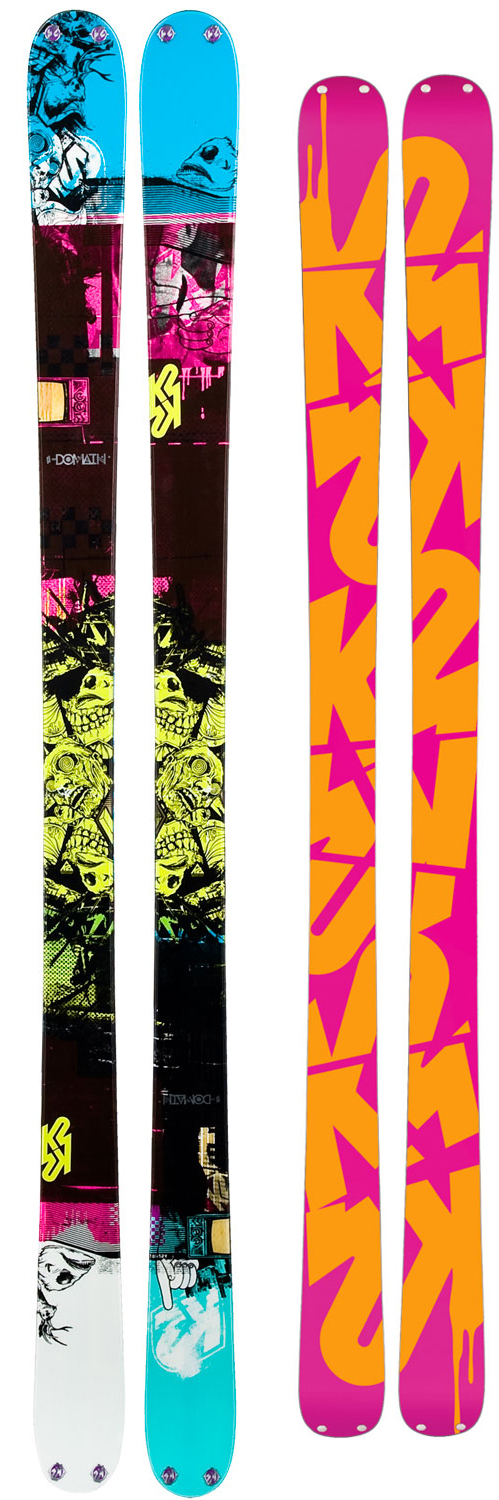 Ski This precision jib tool thrives in the parkThe domain is built with park-specific core profile and center-only mounting position creating a ski that has a light swing-weight off kickers, spinning on and off rails, or riding transitions regardless of direction. The symmetrical sidecut keeps your riding style smooth with consistent arcs while its even flex and Jib rocker allow you to lock into presses and butters like never before. Key Features of the K2 Domain Skis: Performance: Powder: 10% Park: 90 % Radius: 21M @ 179/Symmetrical Taper Baseline: Jib Rocker -0% Camber/20% Rocker Construction: Twin Tech With Vertical Abs Sidewall Core: Fir, Aspen Features: Symmetrical Design - $344.95
