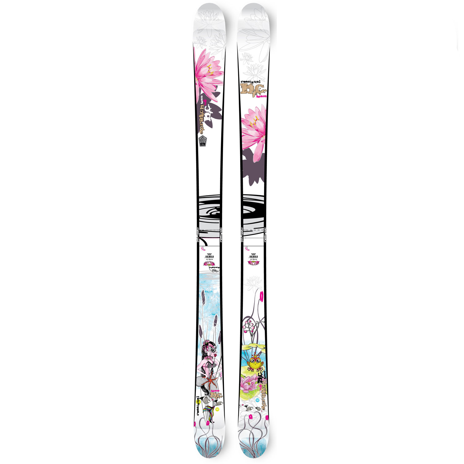 Ski The Rossignol Scratch Girl BC Skis are a recipe for freestyle bliss! A tasty blend of park and pipe and backcountry mixed into one sitting. The Girl BC will satisfy all your freeskiing cravings, whether you are boosting airs in the pipe or skiing your favorite powder stash. It's responsive, quick and positively scrumptious. Built with Rossignol's women's F.I.T. technology.Key Features of the Rossignol Scratch Girl BC Skis:  50% Backcountry/ 50% Jib  3 Mounting Points  30deg Slanting Sidewalls  F.I.T. (Feminine Intuitive Technology   Mini Cap  Rebound Tip  Rocking Chair Effect  Wood Core  WRS (Weight Reduction System   Sidecut: 120/ 90/ 113  Radius: 16.4(160 - $199.95